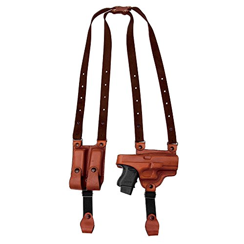 Tagua SH4-472 Full Slide Shoulder Holster, Sig Sauer SP2022, Brown, Right Hand by Tagua (Image #1)