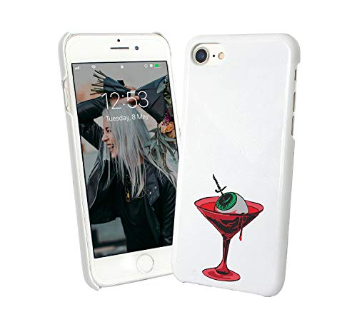 (Halloween Cocktail Eye Treat_007369 Phone Case Cover Hard PC Cover for Protection Compatible with for Samsung Galaxy S6 Funny Gift)