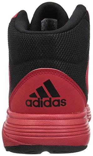 release date: eea99 447b3 ... adidas Neo Herren CF Ilation Mid Basketballschuh Scharlachrot    Scharlachrot   Schwarz ...