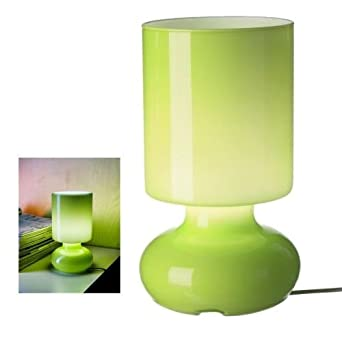 Ikea green lykta glass table lamp retro style amazon ikea green lykta glass table lamp retro style aloadofball Gallery