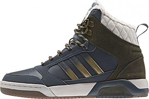 adidas BB9TIS WTR MID SG W - Zapatillas para mujer Gris / Verde / Dorado / Beige