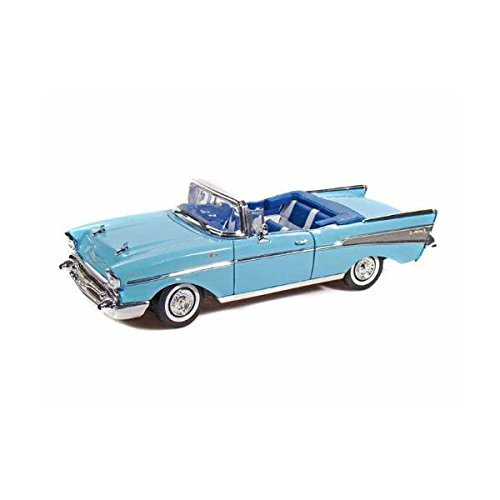 Collectable Diecast 1957 Chevy Bel Air Convertible - Blue ()