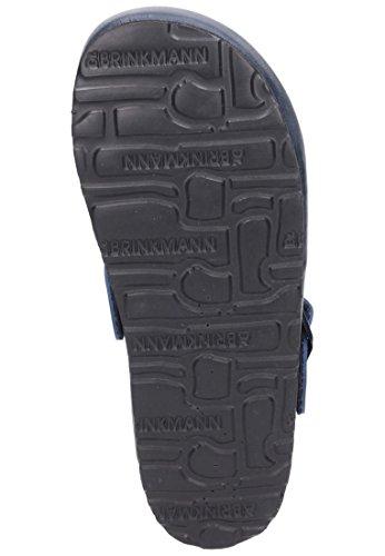 Dr.Brinkmann 505445 Tiefbett Pantoleten Clogs Damen, blau (5), Gr 40