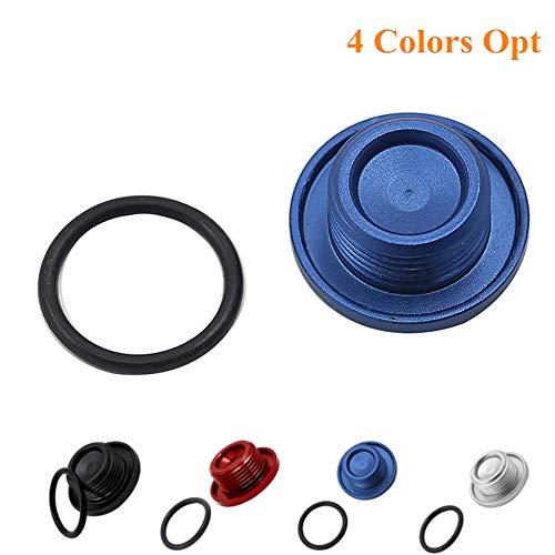 - Cosmoska For Yamaha Top Crankcase Oil Filler Plug Cover & O-Ring For Yamaha Raptor YFM700 YFM 700 ATV Quad Fuel Tank Cap,Blue