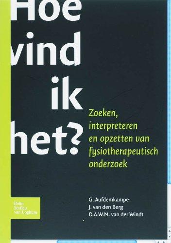 Hoe Vind Ik Het? (Dutch Edition) pdf