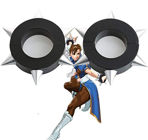 Cosfun Top Street Fighter Chunli Bracelet Cosplay Accessory Halloween Parts -