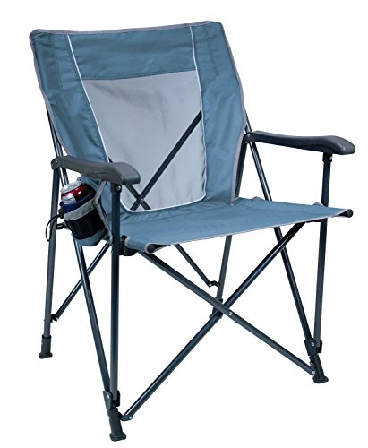 GCI Outdoor Eazy Chair Folding Camp Chair (Folding Tailgate Step)