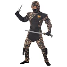 Special Ops Ninja Child Costume, Size Large Plus