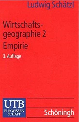 Wirtschaftsgeographie 2 Empirie