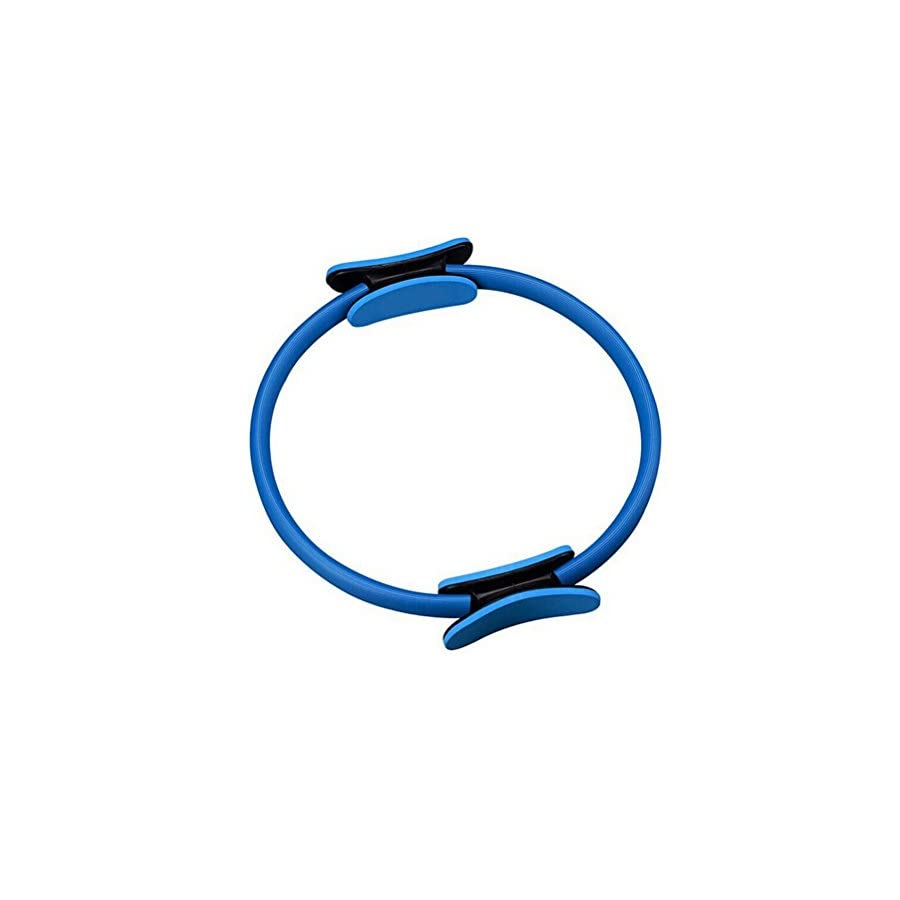 Tinksky Pilates Yoga Ring Magic Fitness Weight Lose Circle (Blue)