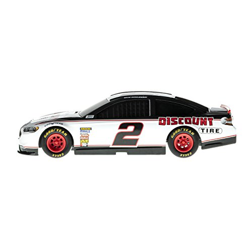 (Lionel Racing 14854 NASCAR Authentics 2018 Brad Keselowski #2 Tire Lionel Racing Diecast, White, Red, Black; 1: 24 Scale)