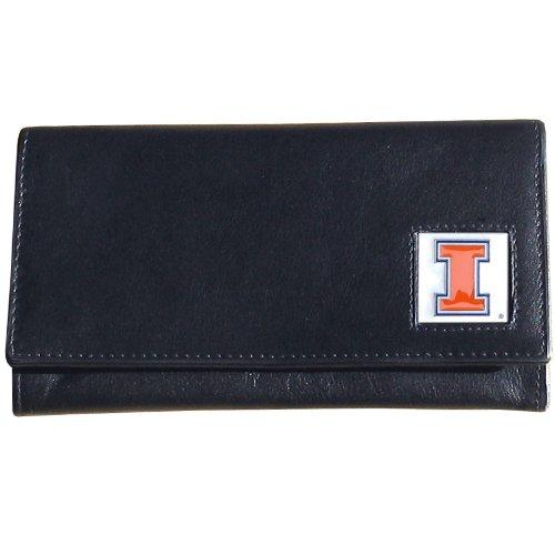 - Illinois Fighting Illini Women's Leather Wallet
