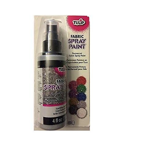 Tulip 26571 Glitter Spray Paint- Sparkling Star