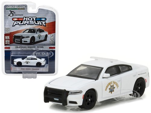 Greenlight 1/64 CHP California Highway Patrol 2016 Dodge Charger Police Car