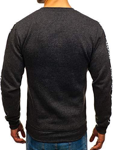 Inséré À Imprimé Sweatshirt Bolf Sans Col Rond Le Travers Tête 1a1 Homme Capuche La Noir Sportif 8689 Style wqtfwIxdX