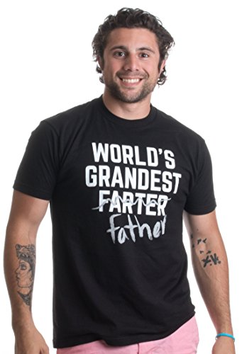 World's Grandest Farter | Funny Grandpa, Papa Father's Day Humor Unisex T-shirt