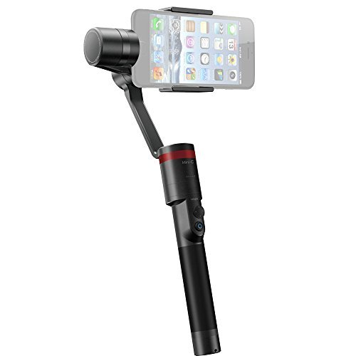 MOZA MINI-C 3-Axis Handheld & Wearable Gimbal Stabilizer PTZ Mount for All Smartphones Within 6-inch Screen,Such as iPhone...