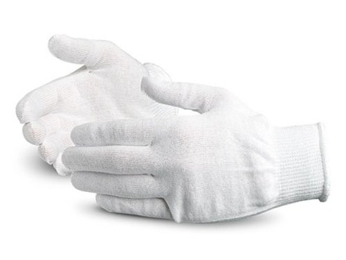 Superior S13THL Thermolite Stretch Winter Glove Liner, Work, 13 Gauge Thickness, X-Large, White (Pack of 1 Dozen) by Superior Glove Works B00BHMF014