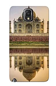Durable Defender Case For Galaxy Note 3 Tpu Cover(taj Mahal )