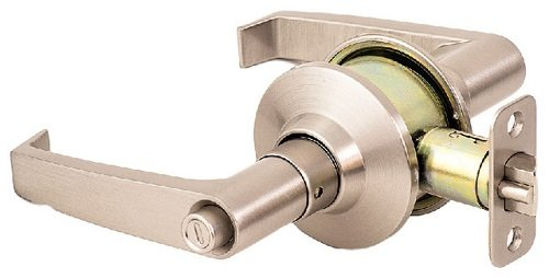 Satin Nickel SURE-LOC CD107-HC-UL Cedar Grade 3 Commercial Cylindrical Lever with Return