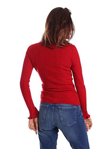 Pepe Jeans Donna Maison Rosso Felpa rwrBAq6