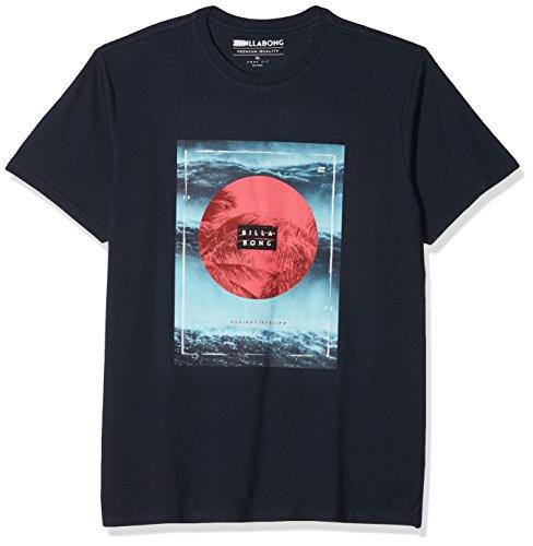 G.S.M. Europe - Billabong Herren Caravan Tee SS Shirts & Hemden, Navy, XL