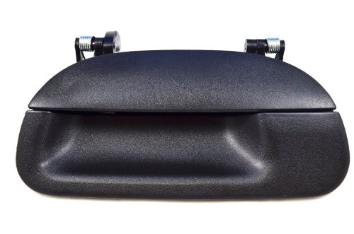 PT Auto Warehouse FO-3503A-T2 - Tailgate Handle, Textured Black - without Keyhole