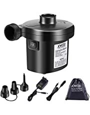 Joycoo Elektrische luchtpomp elektrische pomp inflator delator voor opblaasbare matras kussen bed boot zwemring 2-in-1 AC 230 V EU stekker / DC 12 V autoadapter
