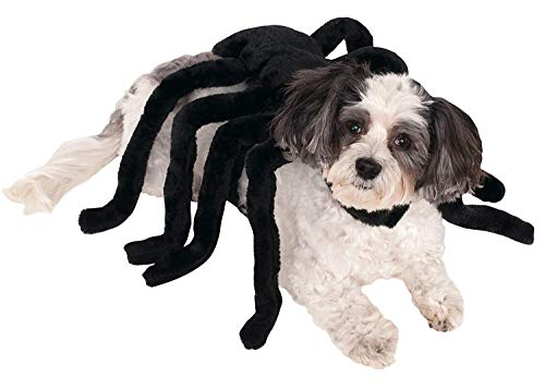 (Pet Spider Harness Costume,Dog Costume, Halloween Pet Costumes, Halloween Dog Costumes Cute Funny Spider Style Pet Clothes Dog Cat Puppy Harness Halloween Festival Cosplay Party Costume Supplies)