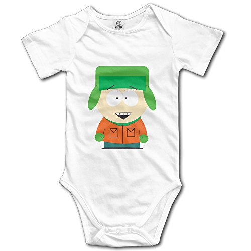South Park In O-neck Baby Boy And Girl Romper Dresses Smooth