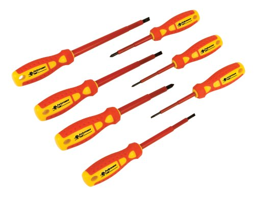 Performance Tool  W30897 Electrical Screwdriver Set, 7-Piece