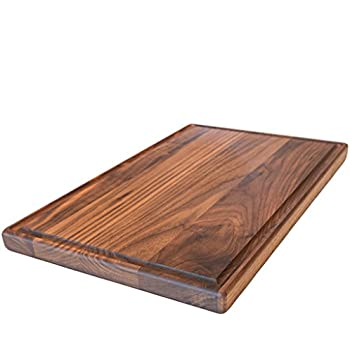 Wonderful Large Walnut Wood Cutting Board By Virginia Boys Kitchens   17x11 American  Hardwood Chopping And Carving