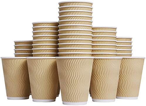 Luckypack Hot Disposable Coffee Cups product image