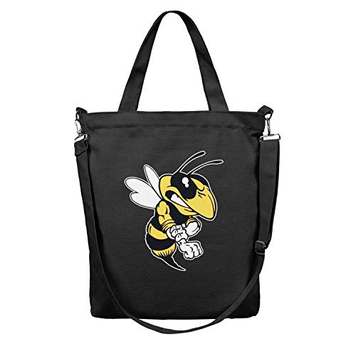 - Women's Tote Shopping Bag Dodge Ram Rumble Bee Canvas Washable Shoulder Travel Totes Bag Perfect for Shopping,Laptop,School Books