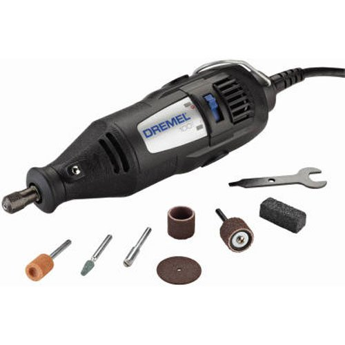 (Dremel 100-N/7 Single Speed Rotary Tool Kit with 7 Accessories)