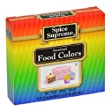 Kyпить Spice Supreme Assorted Food Colors Red Blue Green Yellow 1.2 Oz на Amazon.com