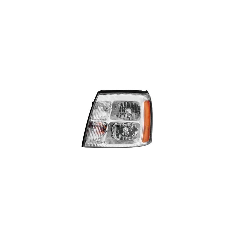 2002 Cadillac Escalade ESV CCFL Halo Projector Headlights /w Amber (Black)