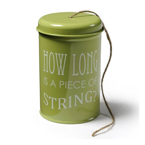 Burgon and Ball Garden Twine in a Tin in Green GYOTWGREEN by Burgon and Ball