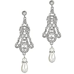 Flapper Art Deco Gatsby Earrings