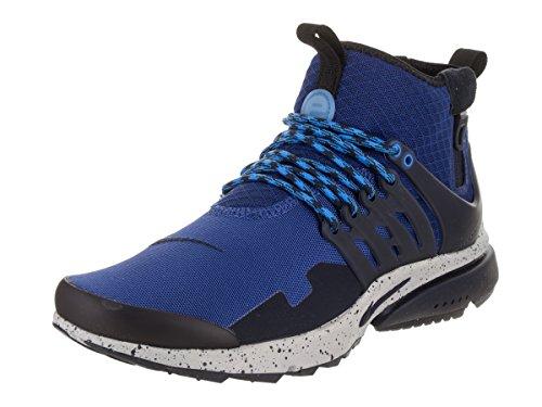 NIKE Men's Air Presto Mid Utility Gym/Blue/Obsidian/Wolf/Grey Running Shoe 13 Men US