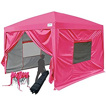 Amazon Com Quictent Privacy 8x8 Easy Pop Up Canopy Tent