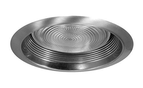 (NICOR Lighting 6-Inch Airtight Recessed Cone Baffle Trim, Nickel (17550ANK))