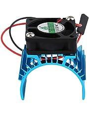 Sylvialuca Duurzame Borstelloze Heatsink Radiator En Ventilator Koeling Aluminium 550 540 3650 Size Sink Cover Elektrische Motor Voor RC HSP Model