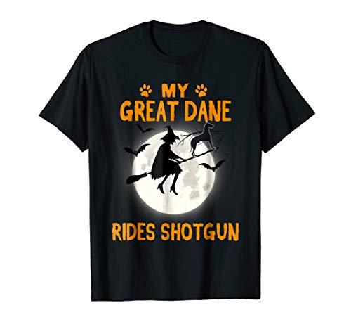 My Great Dane Rides Shotgun Shirt