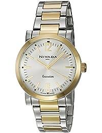 Nivada NP16053MBICPR Reloj Análogo, color Plata
