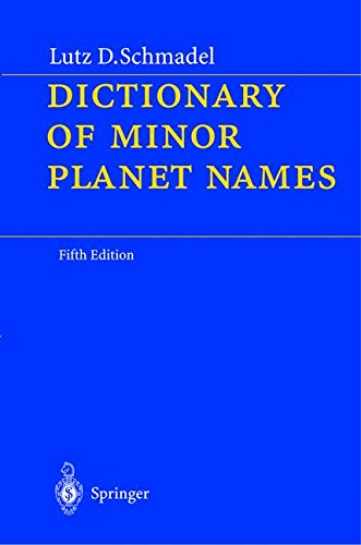 Solar System Planet Names (Dictionary of Minor Planet Names)
