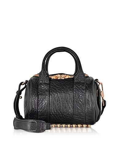 Alexander Wang Women's 20S0066001 Black Leather Handbag (Wang Handbags Alexander)
