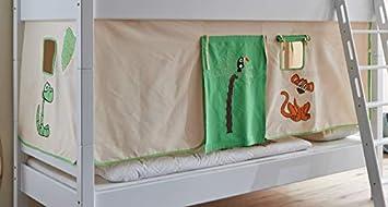 Etagenbett Vorhang Set : Froschkönig vorhang set dschungel hochbett etagenbett