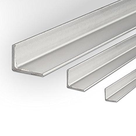 B/&T Metall Edelstahl Winkel gewalzt 40x40x4 mm in L/ängen /à 2000 mm 0//-3 mm V2A Winkel 1.4301