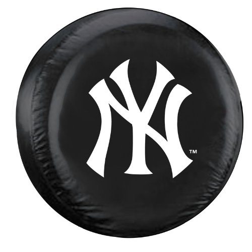 Fremont Die MLB New York Yankees Tire Cover, Large Size (30-32